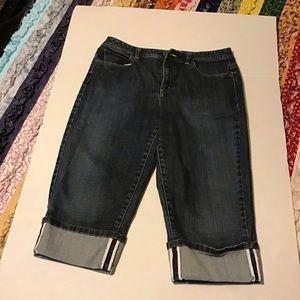 Women's Capri pants Talbot's Petites 12